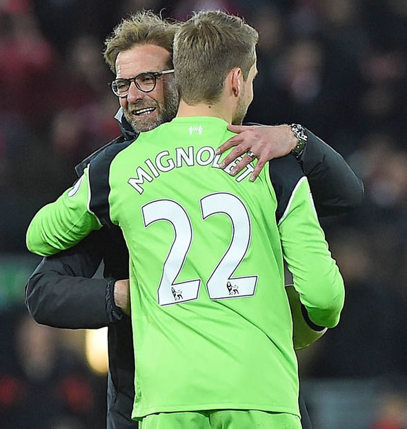 Klopp-was-delighted-with-the-performance-of-Simon-Mignolet